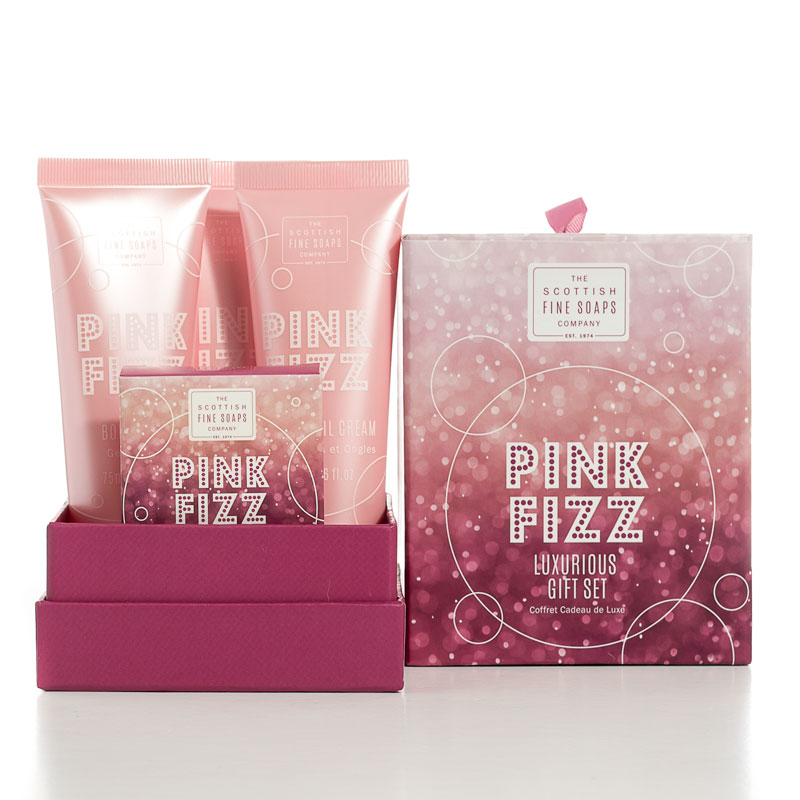Lote Regalo Mujer. Pink Fizz